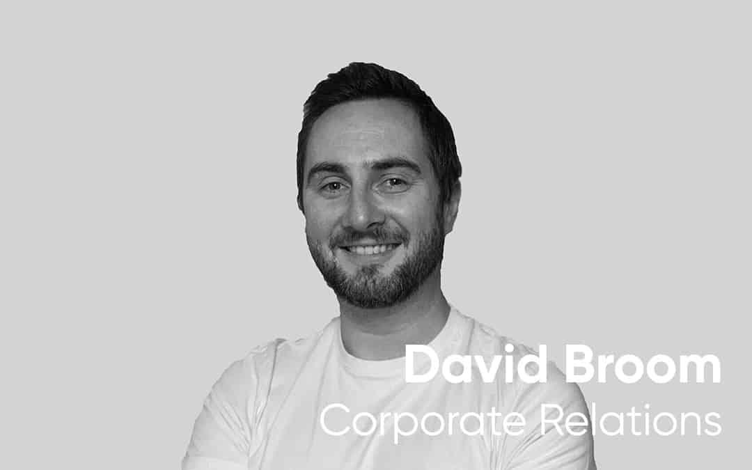 Five minutes with David Broom
